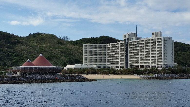 ルネッサンスリゾート沖縄プラチナ特典でルネッサンスフロアへ無料アップグレード 2017年12月