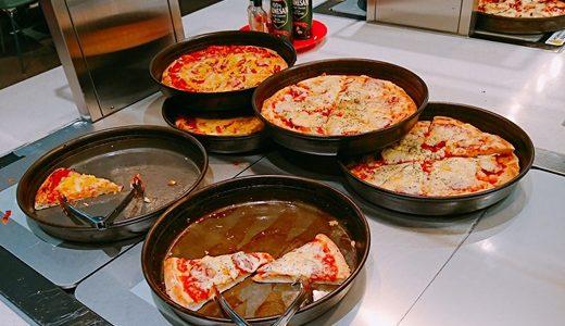 レゴランド ビュッフェレストランのピザ・パスタ・サラダ・ドリンク・デザートと価格