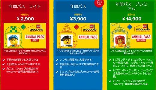 レゴランドディスカバリーセンター東京/大阪 秋の年間パスポートセール 2020年10月31日まで